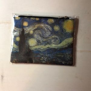 Vincent vango stary night pencil pouch!